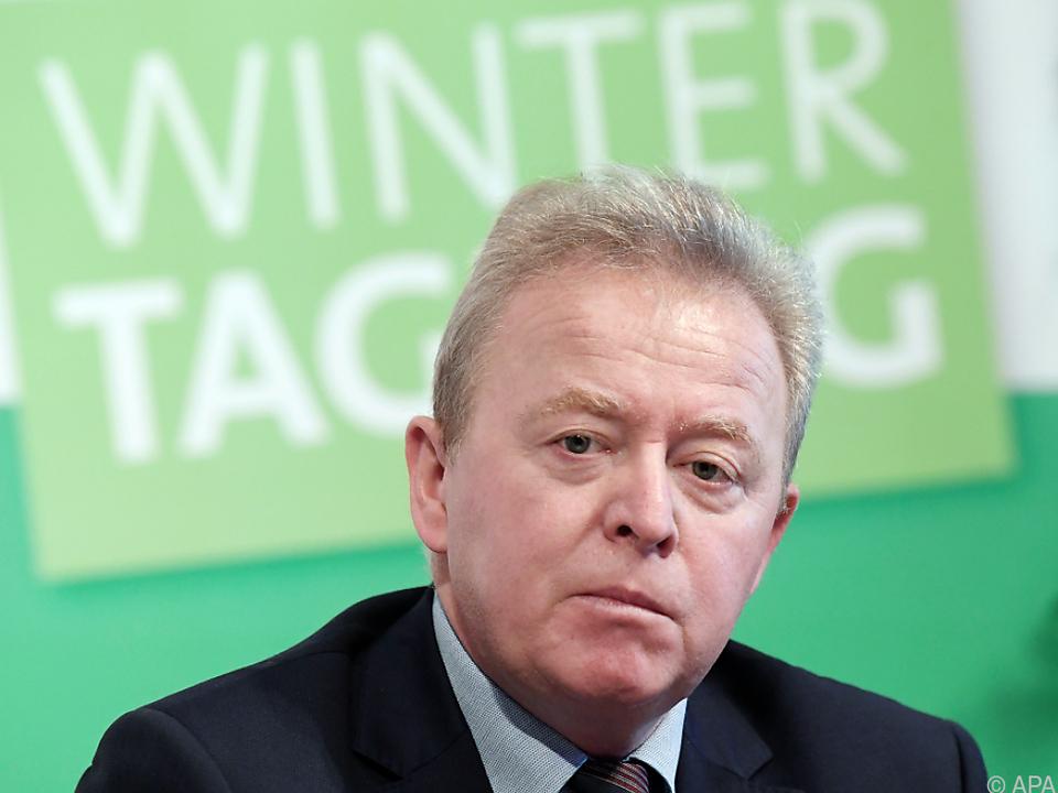 EU-Agrarkommissar Janusz Wojciechowski in Wien