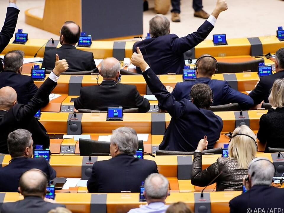 EU-Parlamentarier geben dem Brexit ihr OK