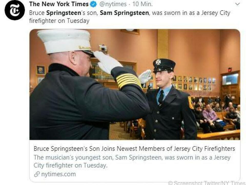 Feuerwehrmann Sam bei der Ernennung