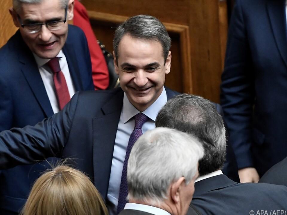Griechenlands Premier ist hocherfreut
