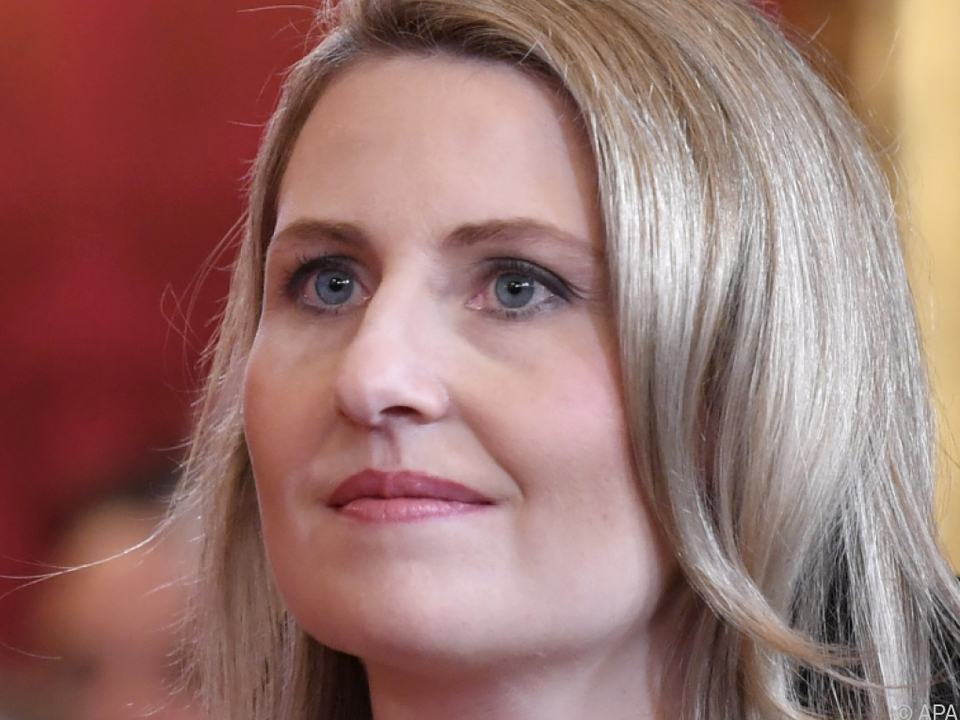 Integrationsministerin Susanne Raab: \