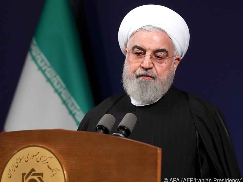 Iranischer Präsident Rouhani schlägt versöhnliche Töne an