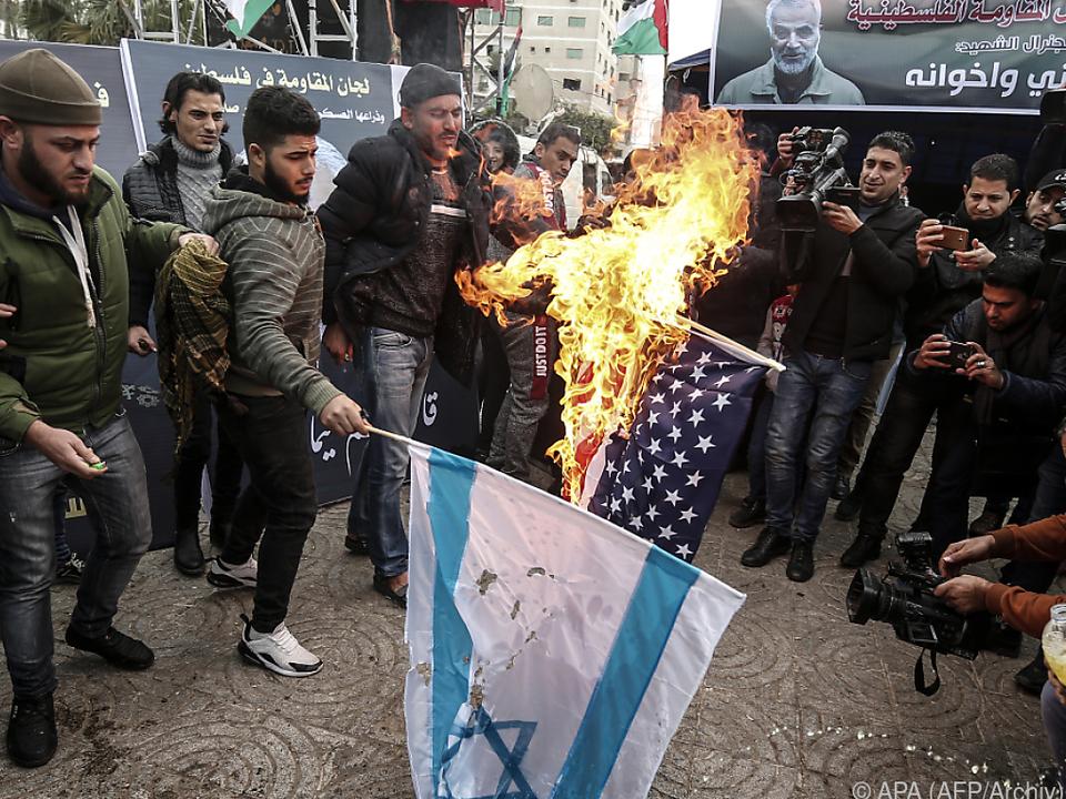 Israel in der arabischen Welt verhasst