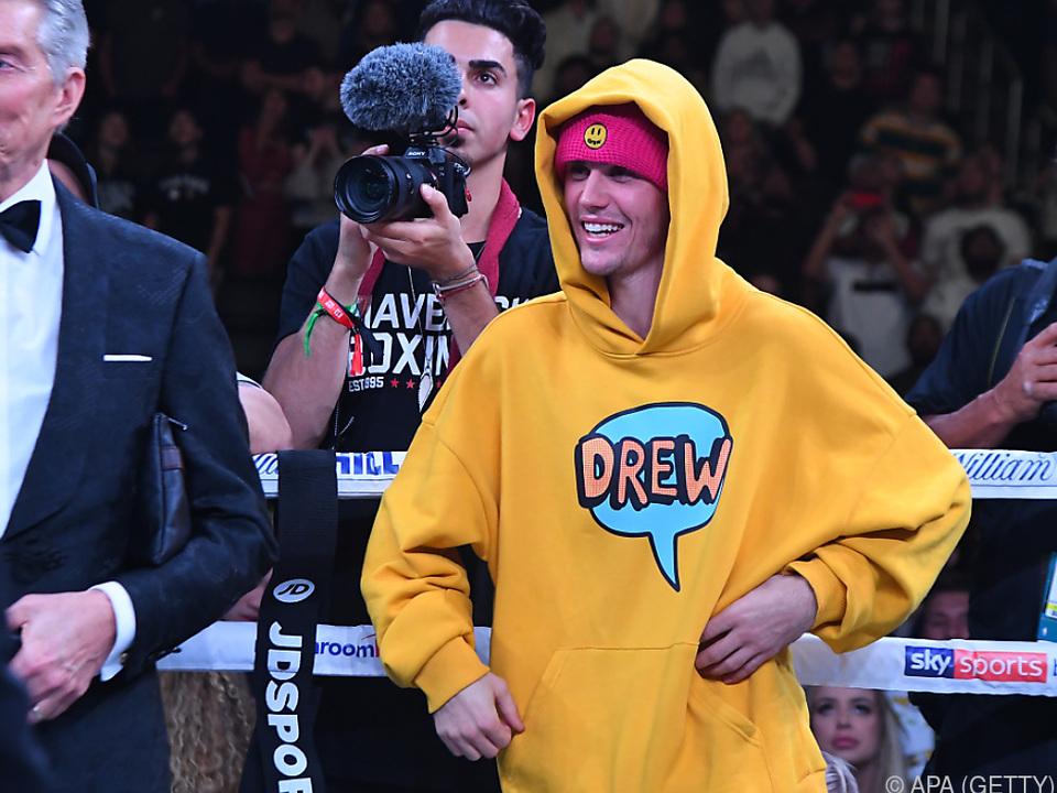 Justin Bieber half für den guten Zweck