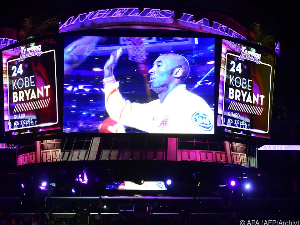 Kobe Bryant war am Sonntag tödlich verunglückt