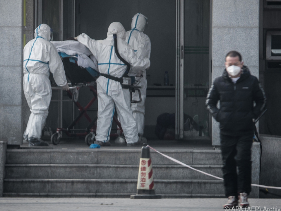 Lungenkrankheit in China