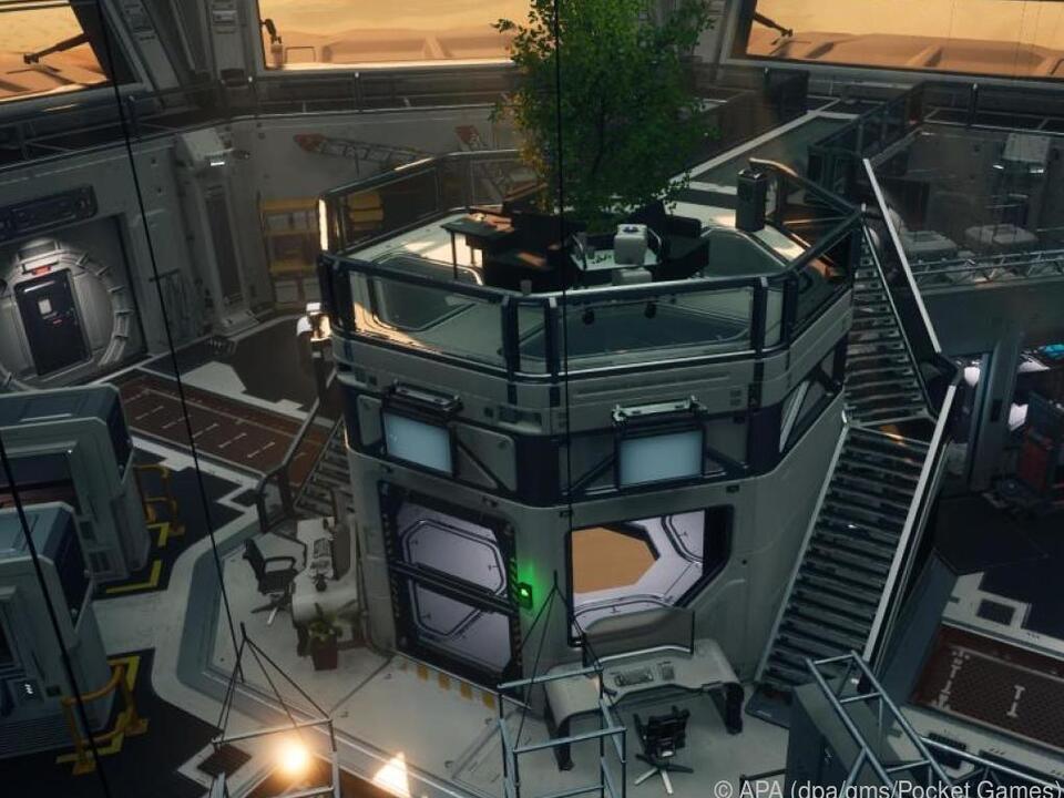 Die Mars-Station Trailblazer Alpha ist Schauplatz der gruseligen Ereignisse