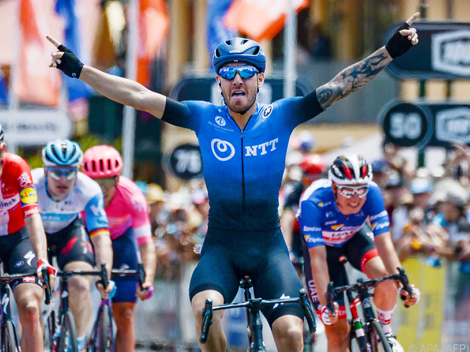 Nizzolo sprintete zum Tagessieg