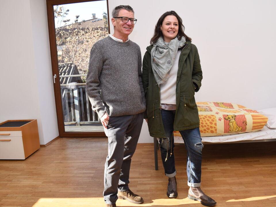 Paul Tschigg und Karin Cirimbelli verantworten die beiden Projekte im Zeilerhof