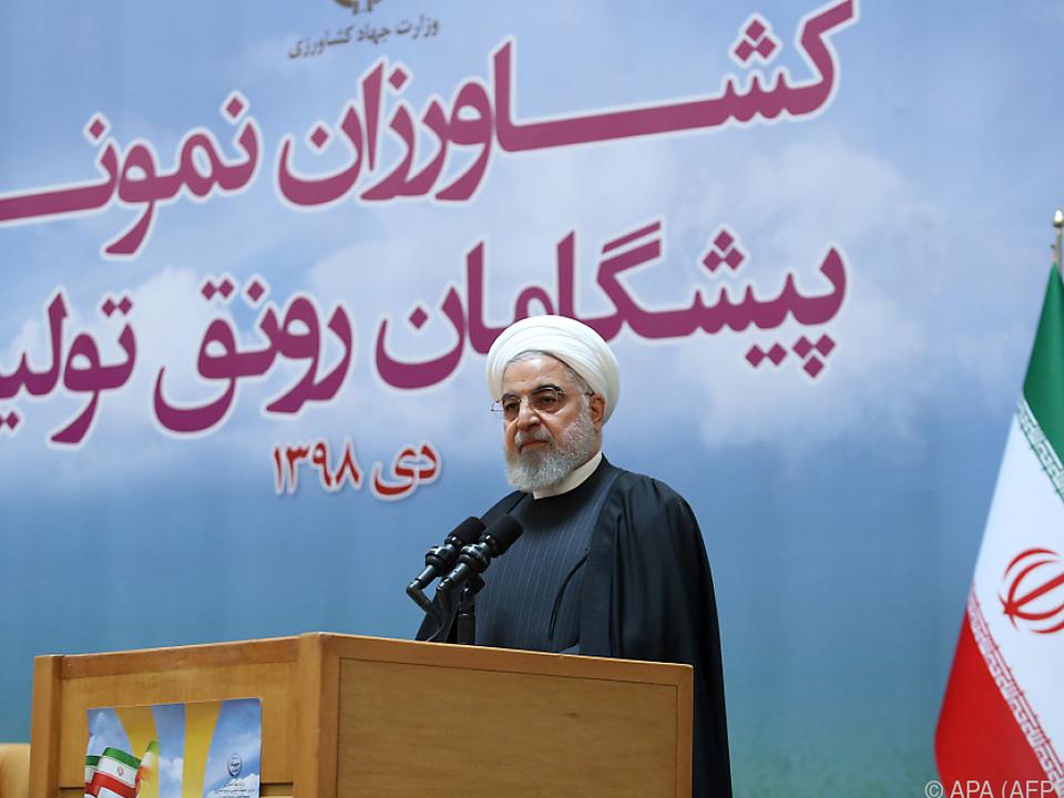 Präsident Rouhani nennt Abschuss der Maschine \