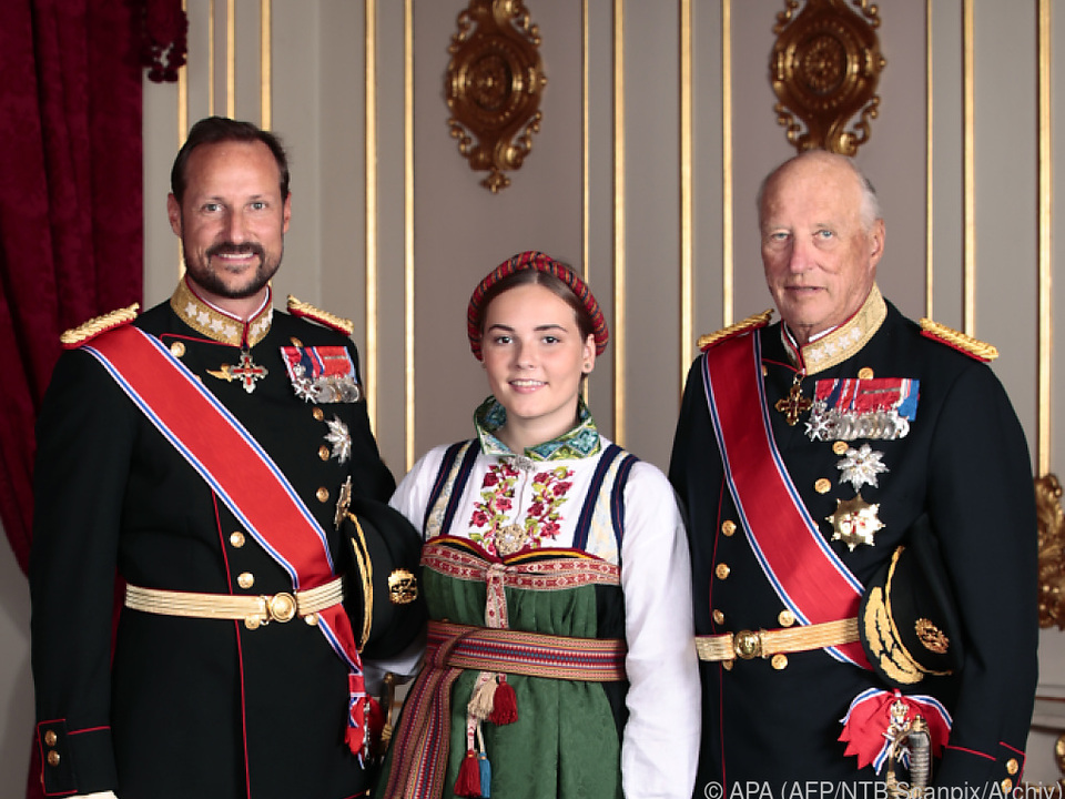 Prinzessin Ingrid Alexandra (m.) ist die Zweite in der Thronfolge