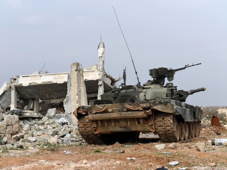 Regierungstruppen eroberten große Gebiete von den Rebellen zurück