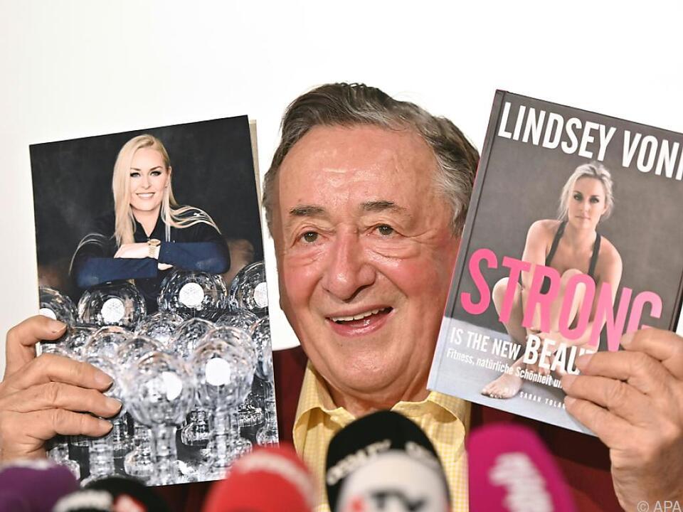 Richard Lugner freut sich schon auf Lindsey Vonn