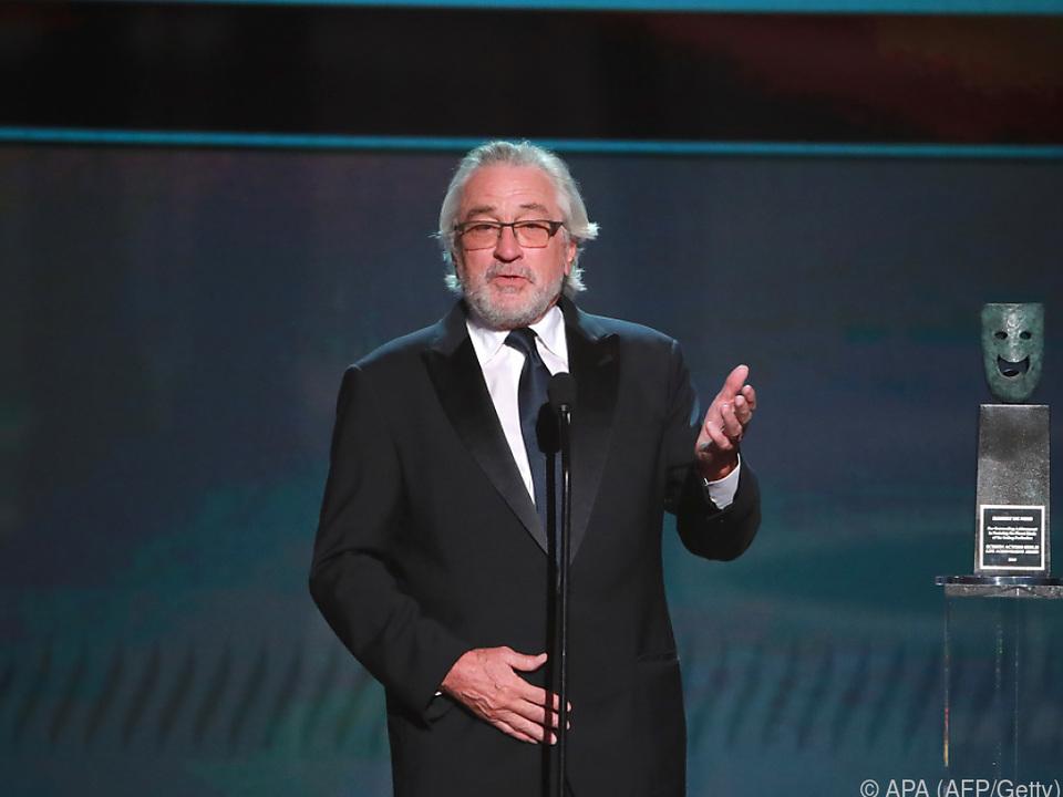 Robert De Niro übte Kritik an der Politik