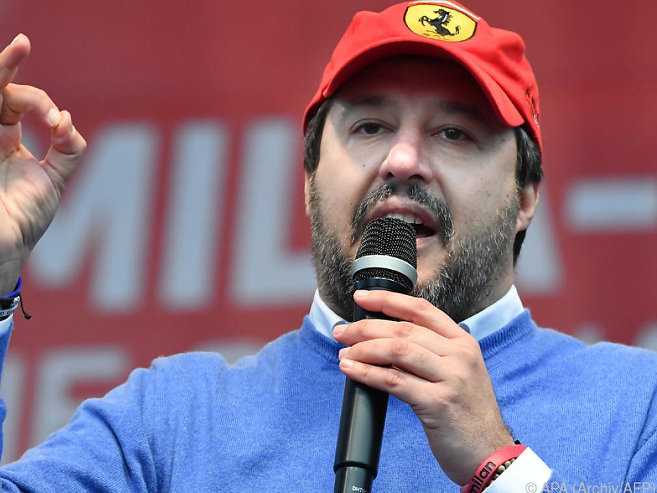 Salvini war zuletzt durch die Region getourt