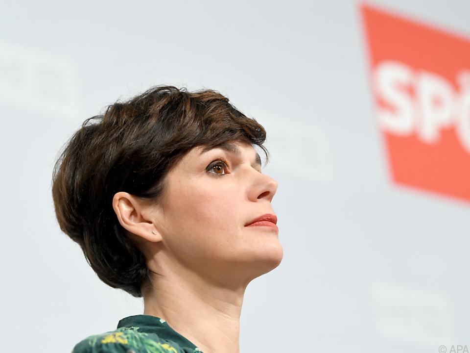 SPÖ-Chefin Rendi-Wagner fordert Korrektur der Mindestsicherung