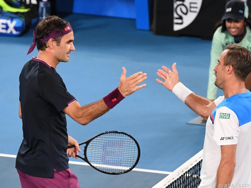 Steve Johnson war für Federer nicht viel mehr als ein Trainingspartner