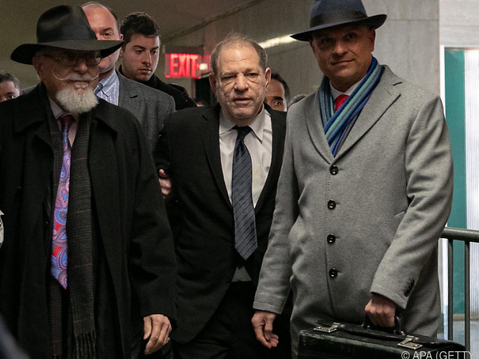 Weinstein droht lebenslange Haft