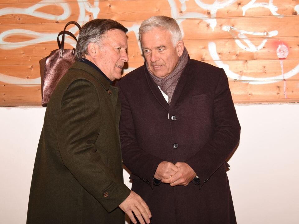 Zwei Unternehmer setzen sich für Obfachlose ein_Hellmuth Frasnelli und Heiner Oberrauch2