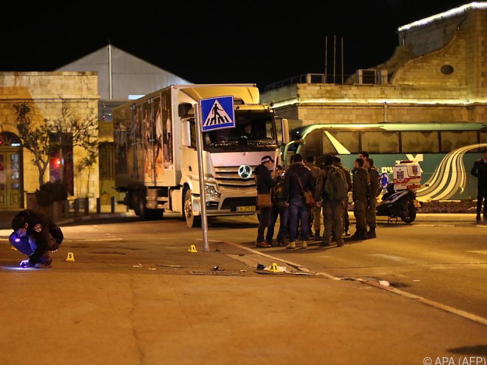14 Verletzte bei mutmaßlichem Anschlag in Jerusalem