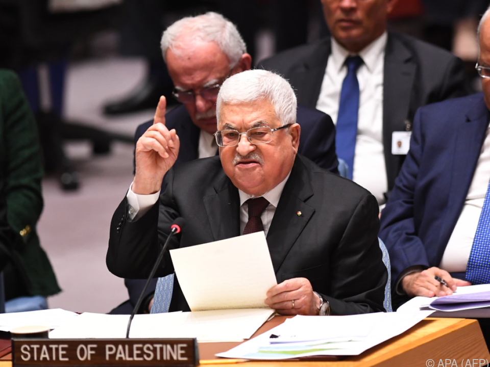 Abbas lehnt Trumps Nahost-Plan als \