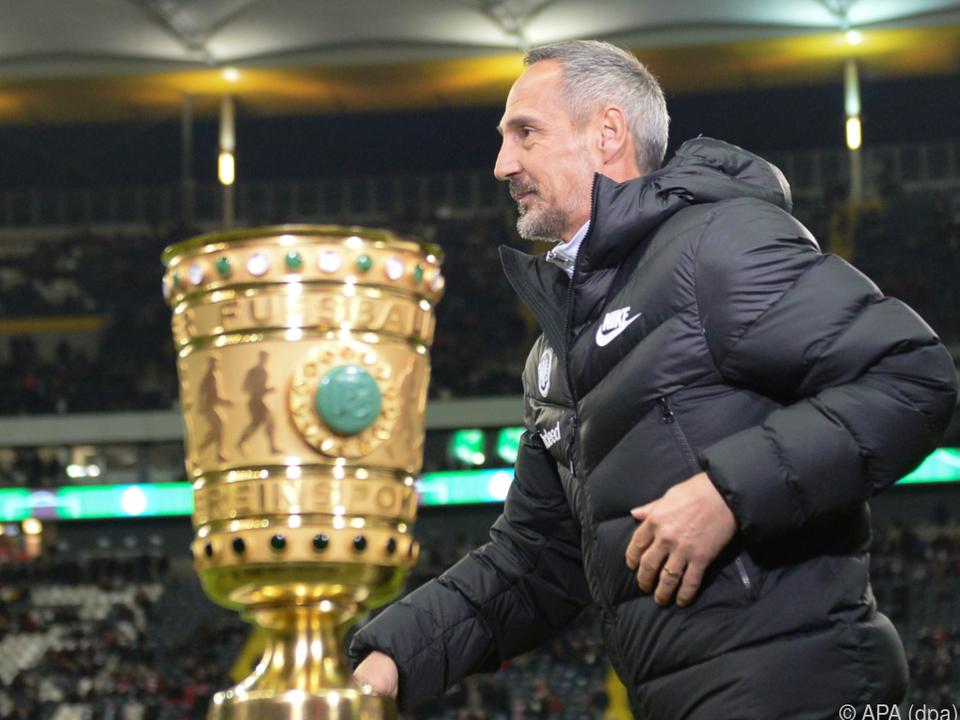 Adi Hütter und sein Team sind einen Schritt näher am Pokal
