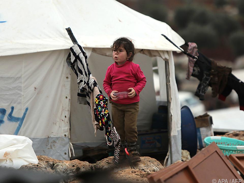 Allein aus dem Nordosten des Landes flohen rund 900.000 Syrer