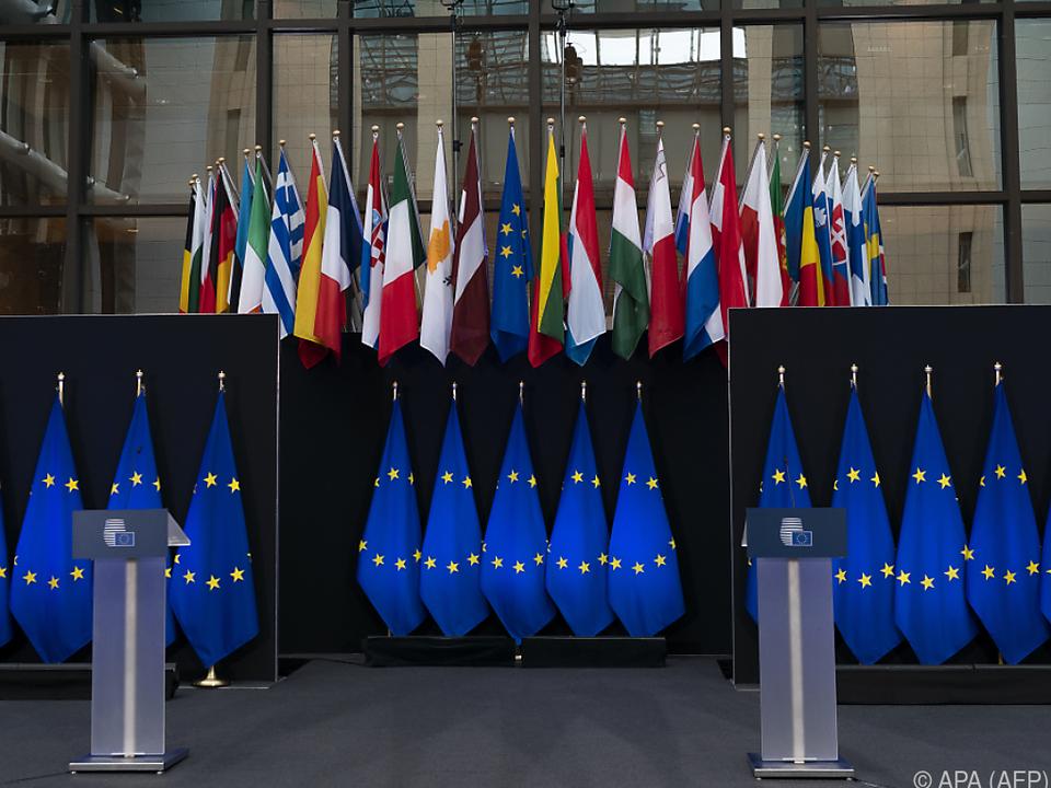 Am Donnerstag beginnt der EU-Sondergipfel