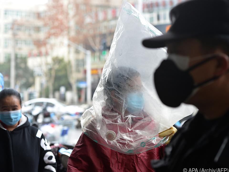 Ansteckungsgefahr in der Provinz Hubei weiterhin sehr groß