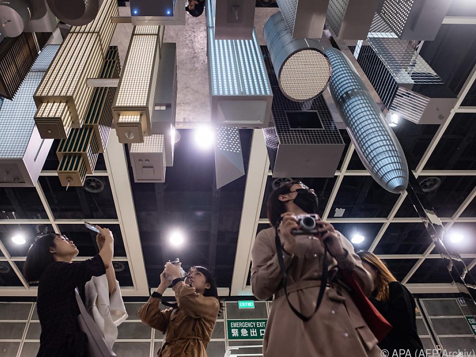 Art Basel Hongkong (im Bild die Ausgabe 2019) findet heuer nicht statt