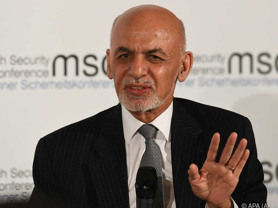 Ashraf Ghani kam demnach auf 50,64 Prozent der Stimmen