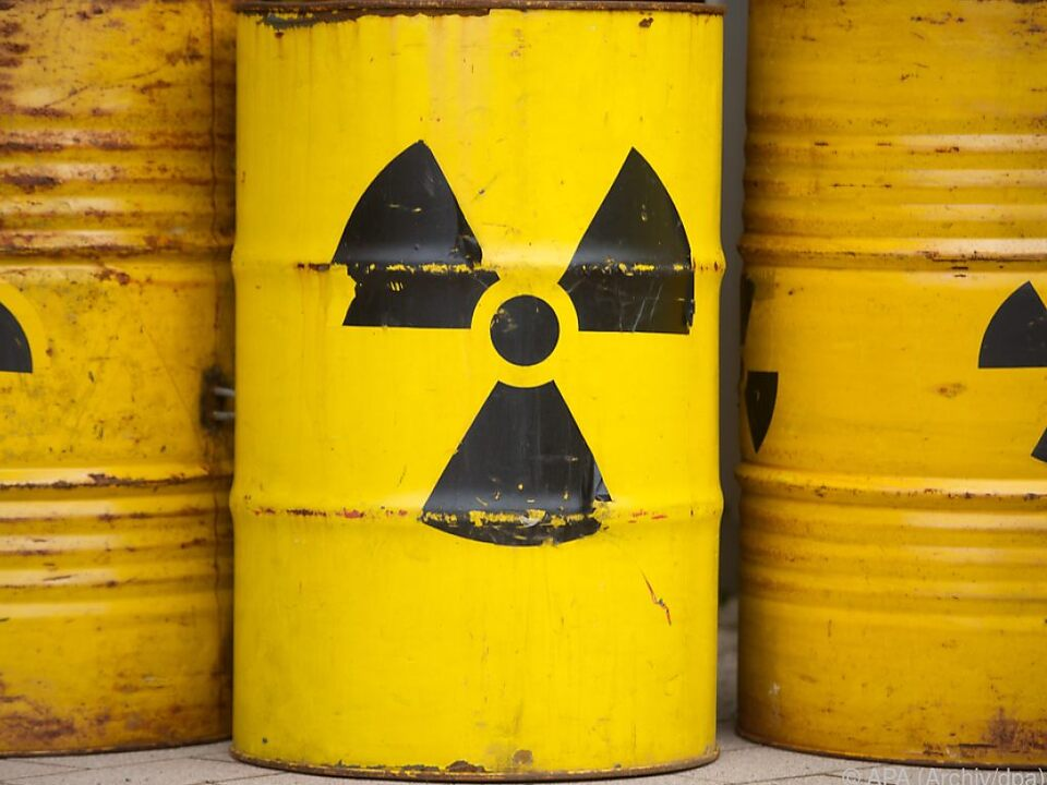 Atommüll muss fachgerecht gelagert werden
