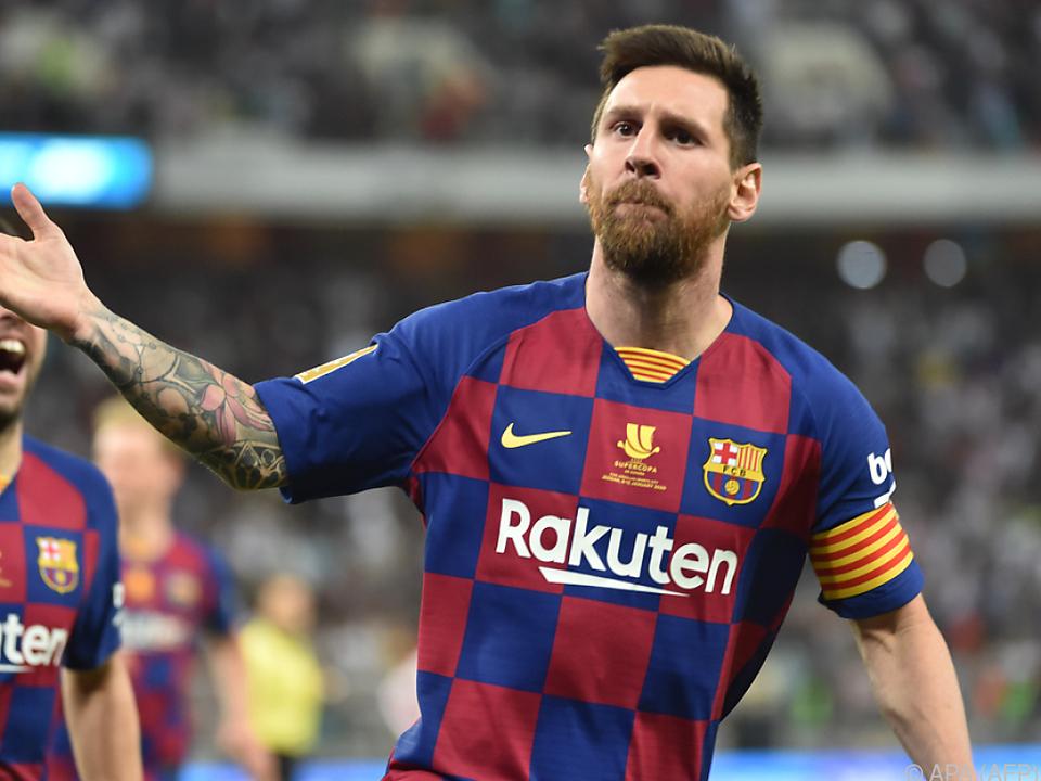 Barcelona hofft auf einen Messi in Torlaune