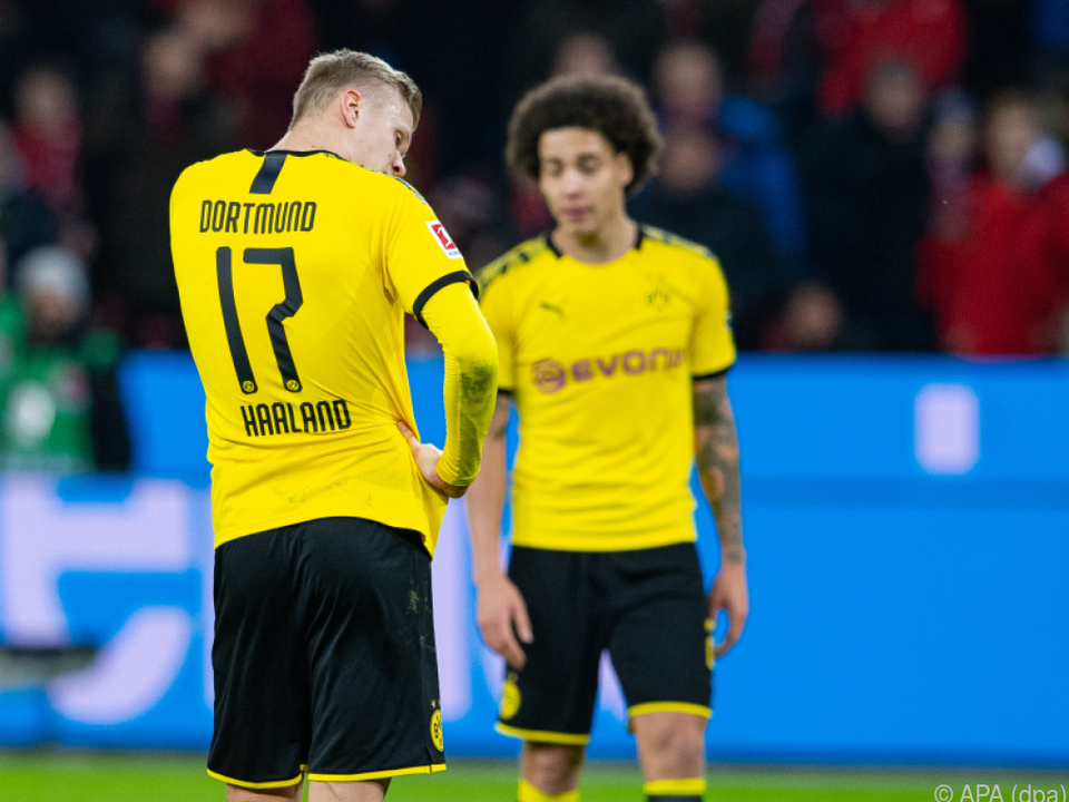Bei Dortmund hängt nach zwei Pleiten der Haussegen schief