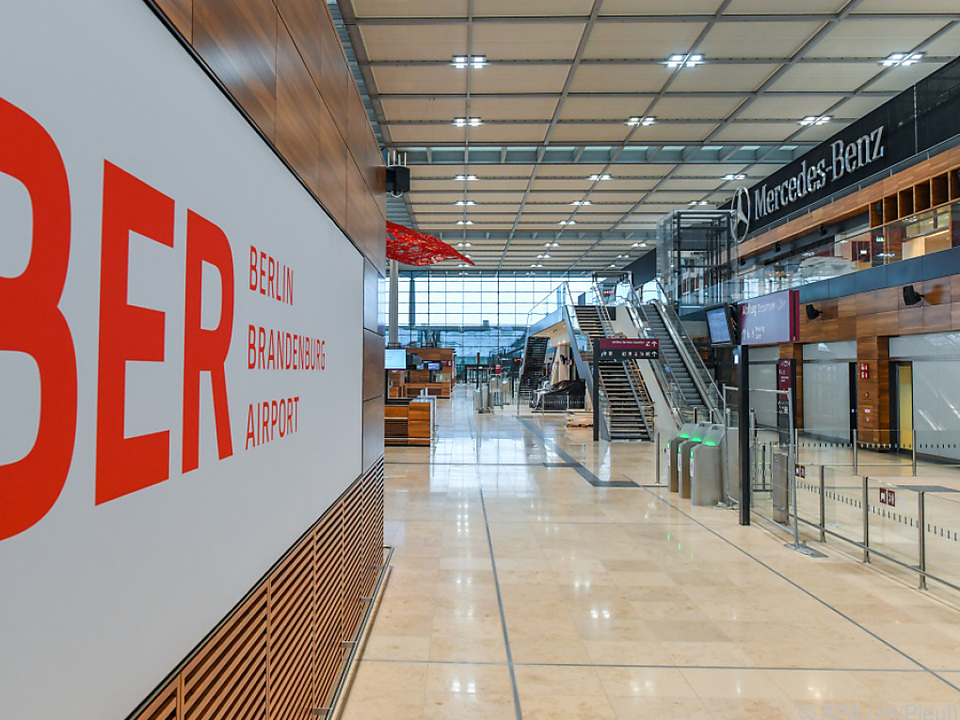 BER-Flughafen muss noch getestet werden