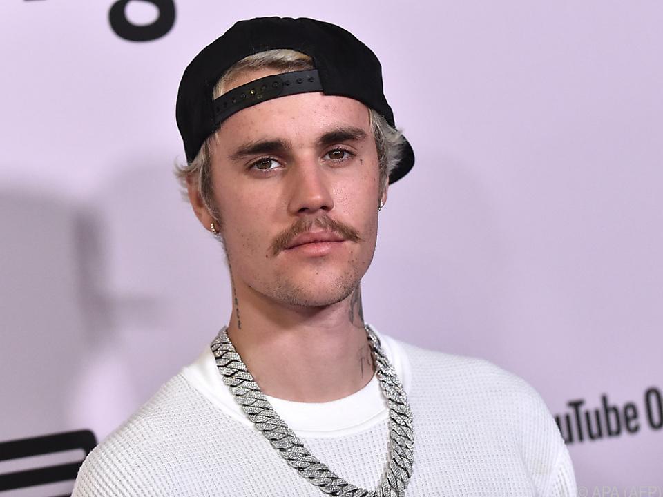 Bieber mit sieben Alben auf Platz eins