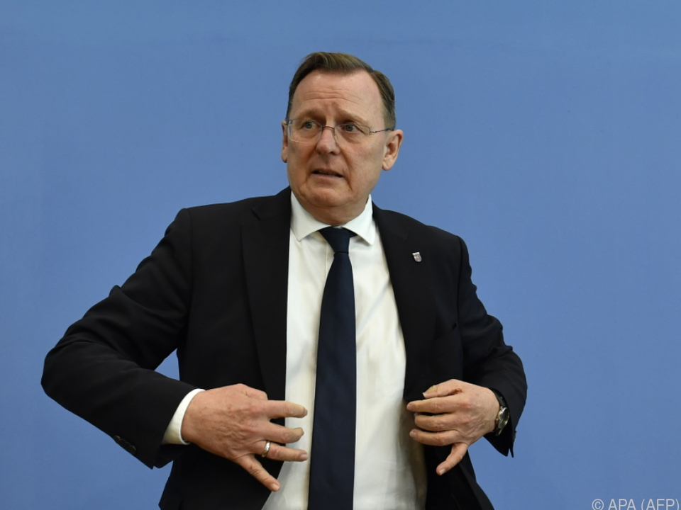 Bodo Ramelow von der Linkspartei