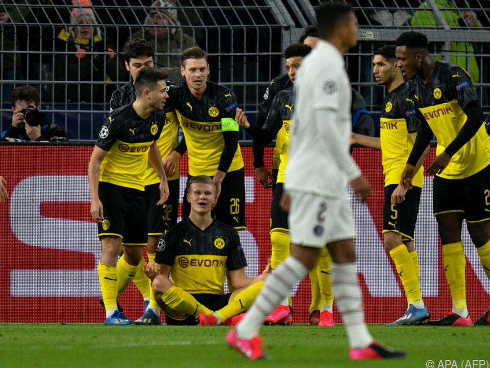 BVB-PSG 2:1; Dortmunds Tore, wenig überraschend: Haaland, Haaland