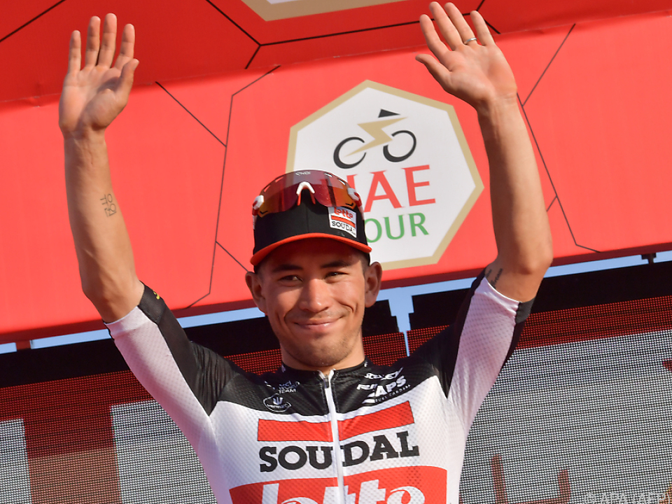 Caleb Ewan nun in der Pole Position