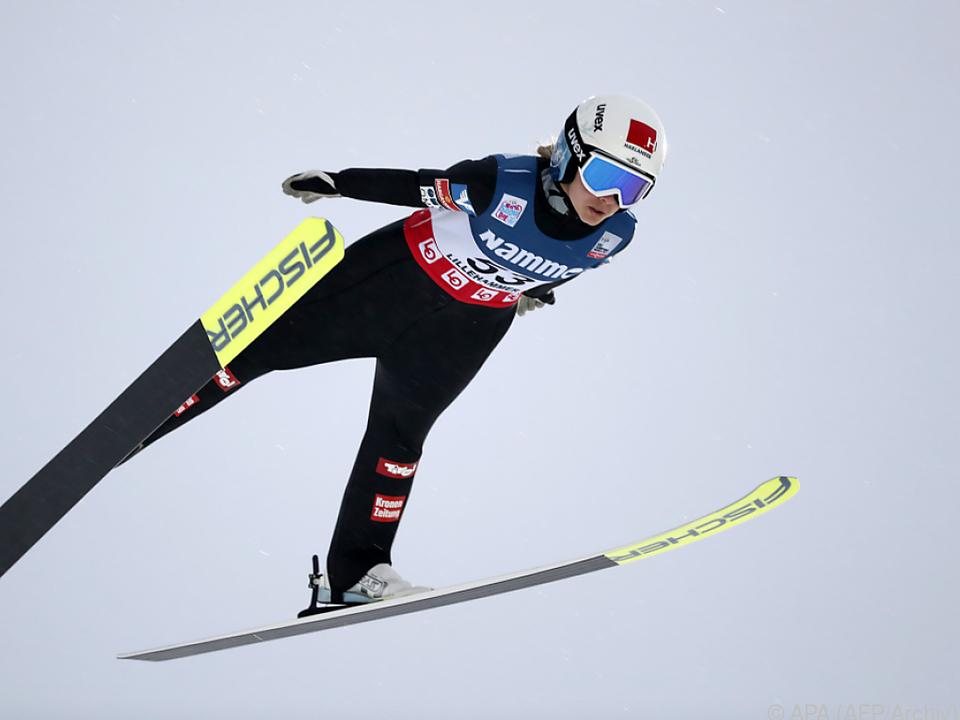 Chiara Hölzl hat nur noch 26 Punkte Vorsprung