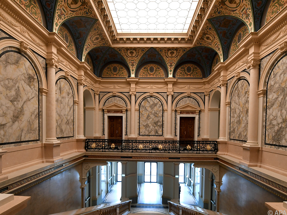 Das Künstlerhaus wurde für 57 Mio. Euro restauriert