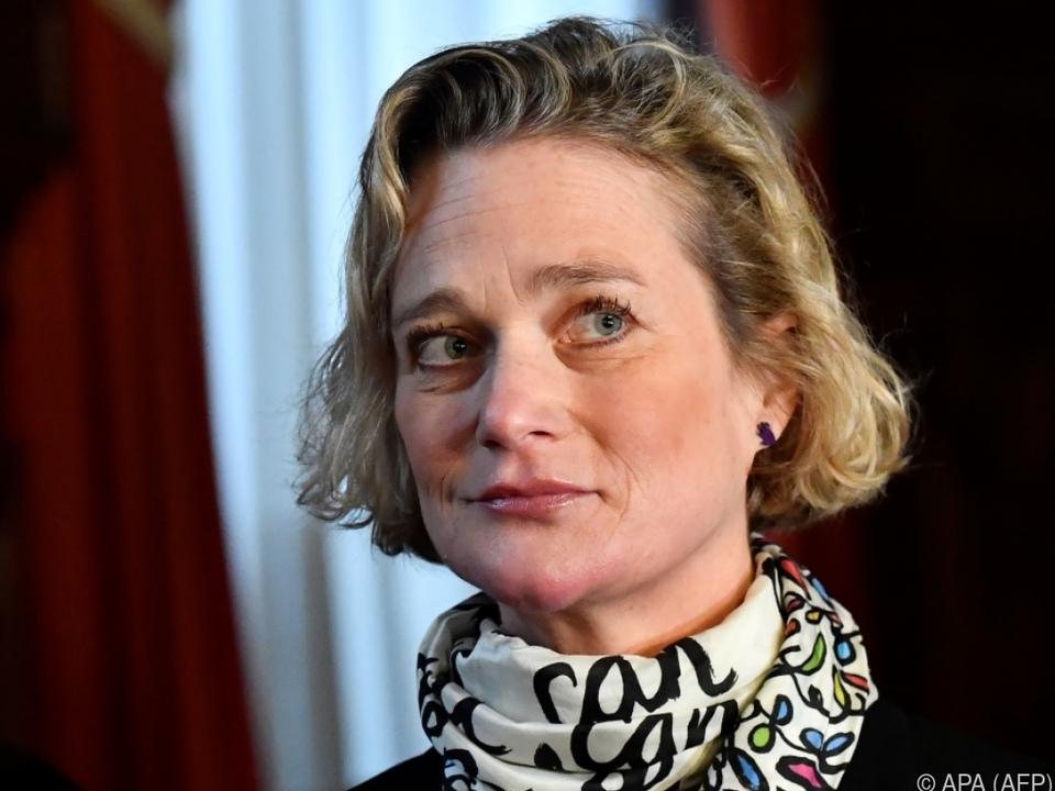 Delphine Boel ist die uneheliche Tochter von Albert II