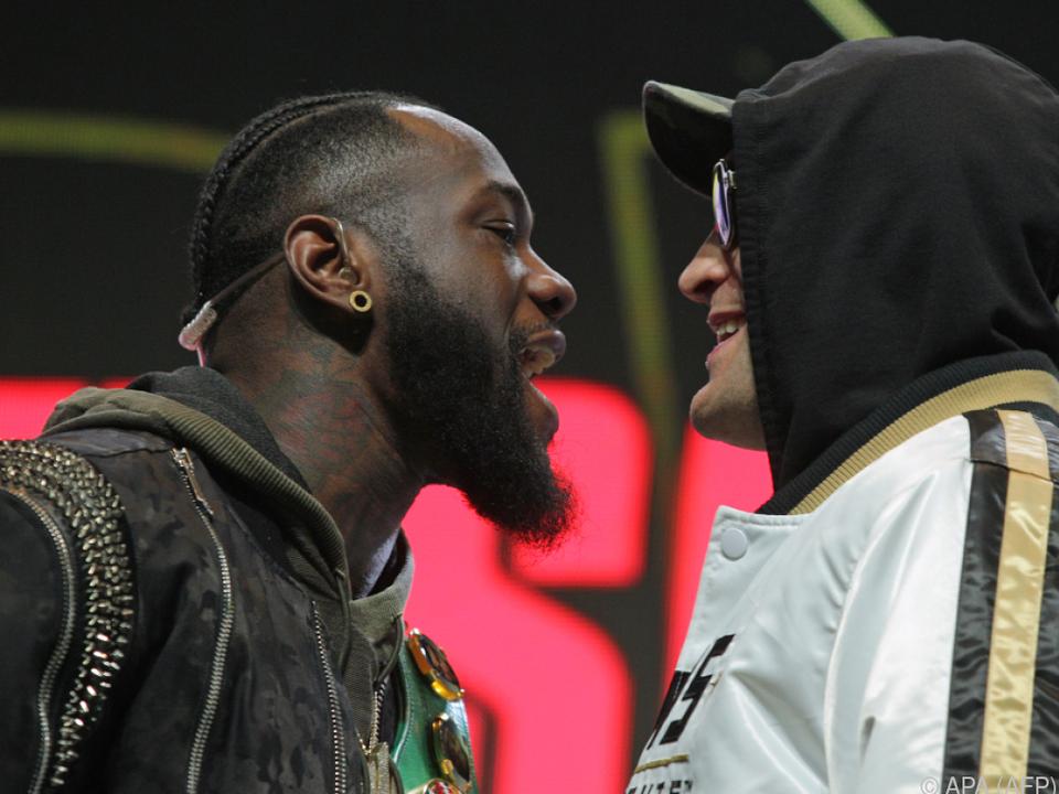 Deontay Wilder und Tyson Fury wollen einander nichts schenken