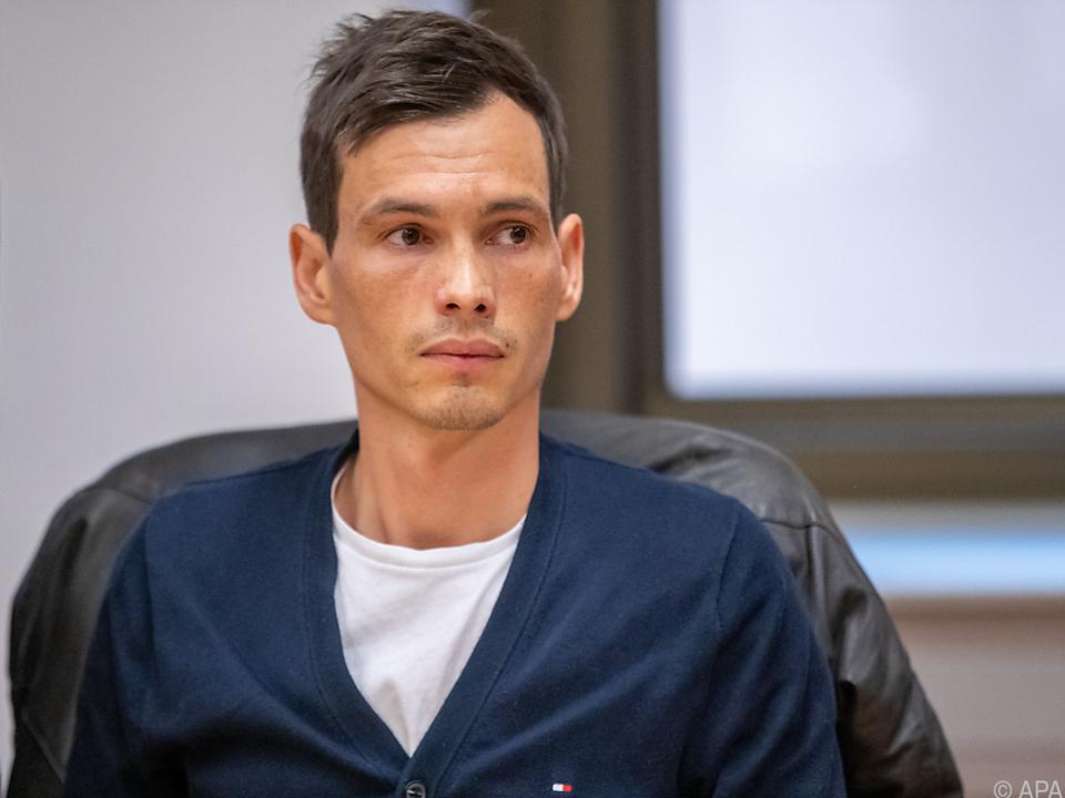 Der angeklagte Ex-Radprofi Stefan Denifl
