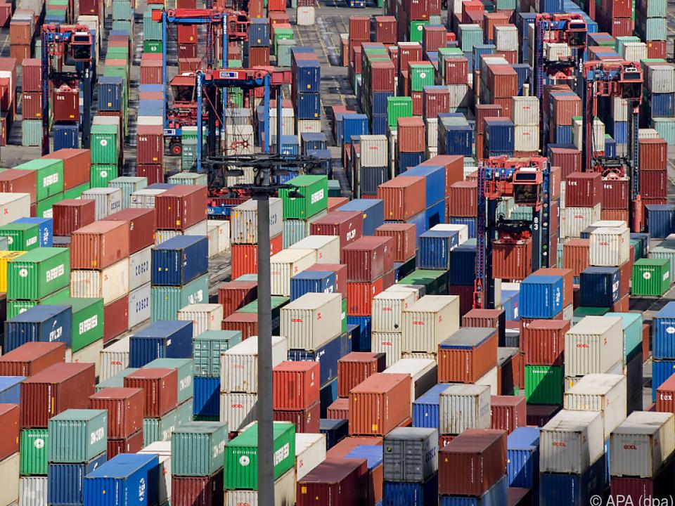 Der deutsche Handelsmotor kam zuletzt leicht ins Stocken