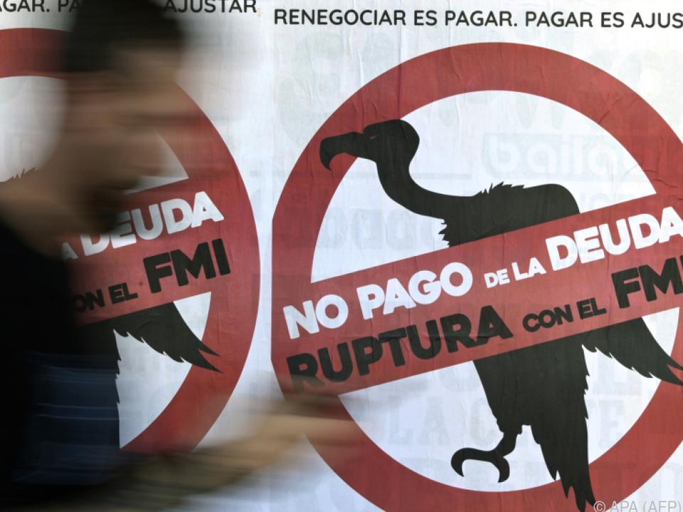 Der IWF hat in Argentinien nicht den besten Stand