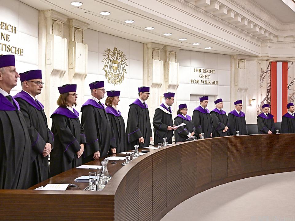 Der Verfassungsgerichtshof soll bald einen neuen Präsidenten bekommen