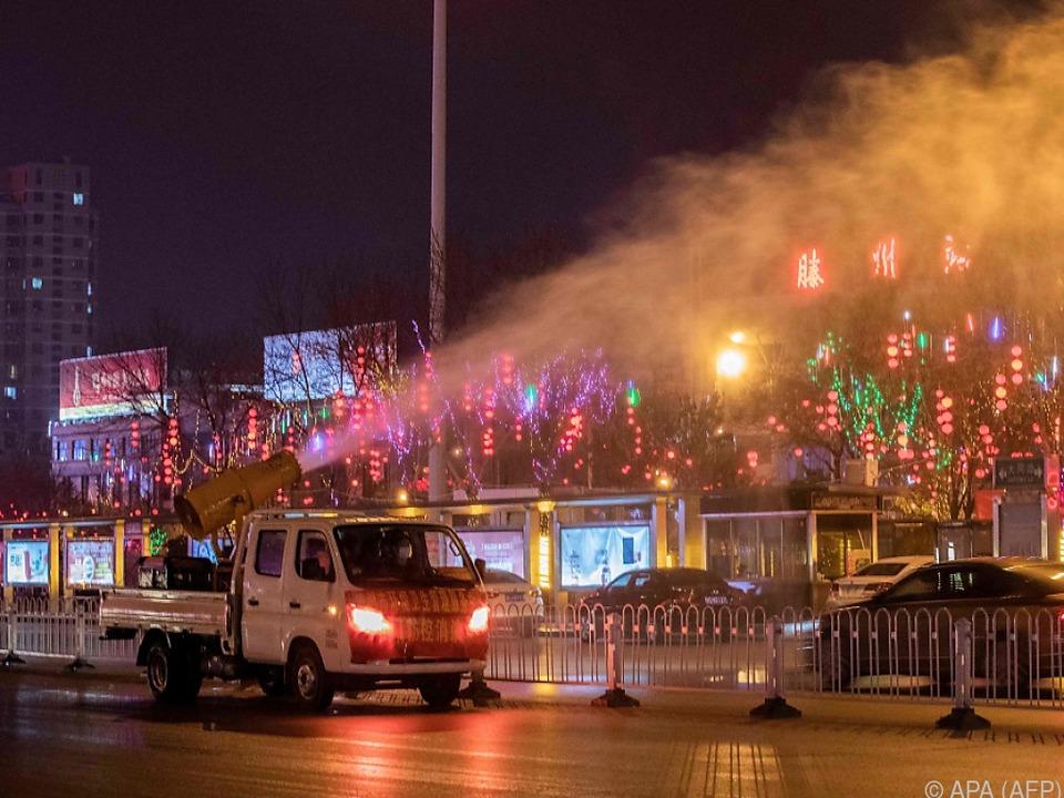 Desinfektionsmaßnahme in der Provinz Shandong