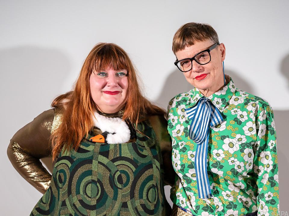Die beiden Künstlerinnen wurden von einer Jury nominiert