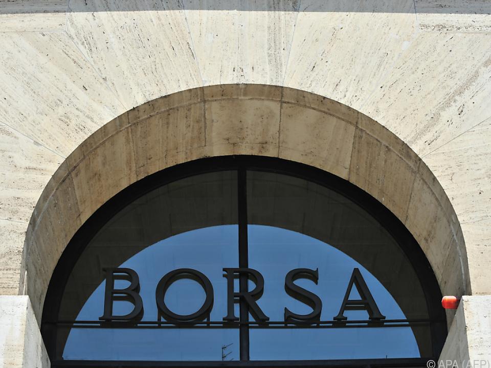 Die Borsa Italiano leidet unter dem Coronavirus